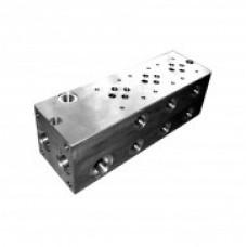 Монтажные плиты ATOS / ВА-214/*-AL многопозиционные, для клапанов ISO 4401 размер 06